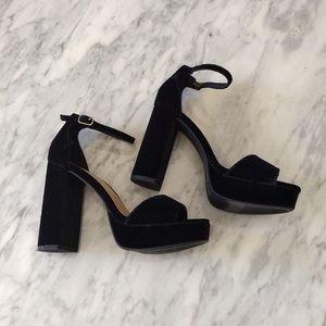 [LIKE 🆕] Candie's x Kohl's: Black Velvet Heels